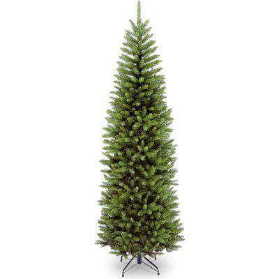 9ft Kingswood Fir Hinged Christmas Tree Green