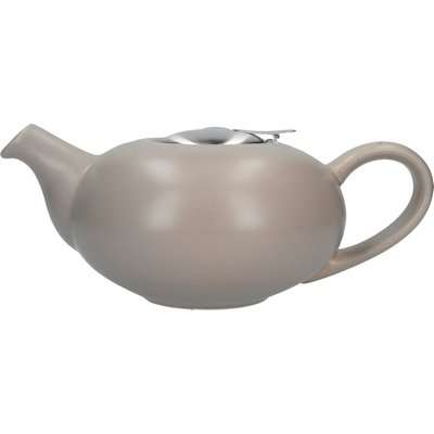 London Pottery Matt Putty Pebble Teapot Putty (Natural)