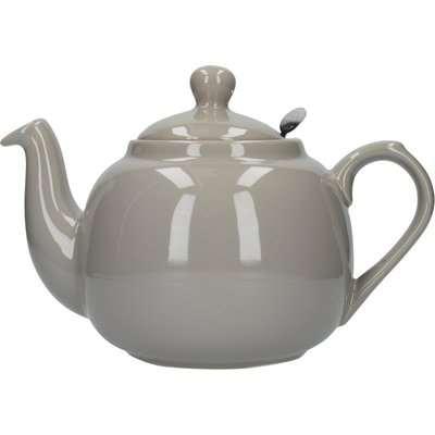 London Pottery Grey Farmhouse Teapot Grey