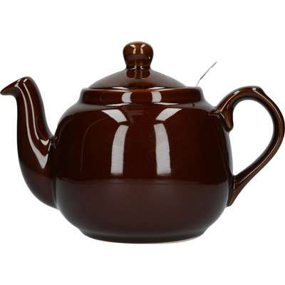 London Pottery Rockingham Brown Farmhouse Teapot Brown