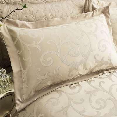 Lucia Natural Oxford Pillowcase Natural Brown