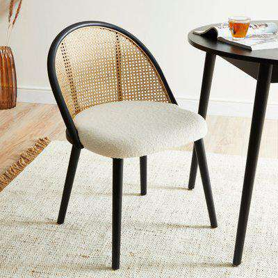 Luella Cane Dining Chair Ivory