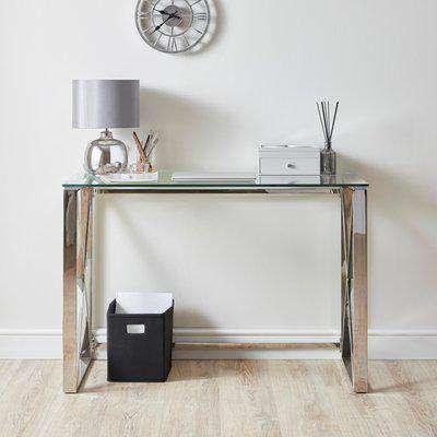 Madison Desk Silver