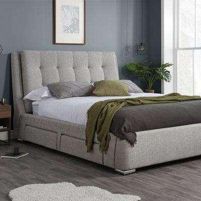 Madison Grey Bed Frame Grey