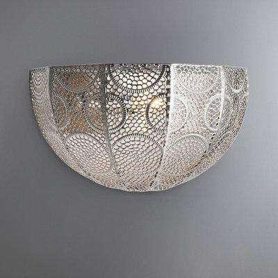 Manila Chrome Wall Light Silver