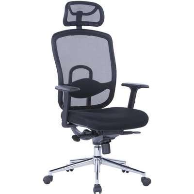 Miami Ergonomic Office Chair Black