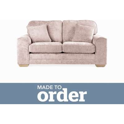 Morello 2 Seater Sofa Luxury Chenille Premium Chenille Rosewood