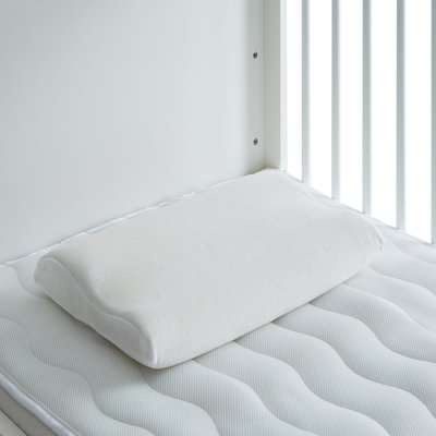 My First Contoured Memory Foam Pillow White