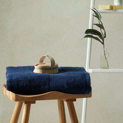 Ultra Absorbent 100% Cotton Bath Sheet Navy (Blue)