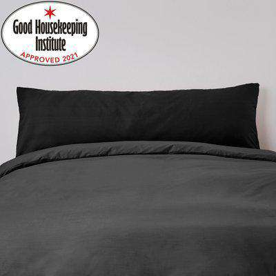 Non Iron Plain Dye Large Blush Housewife Pillowcase Pair Blush