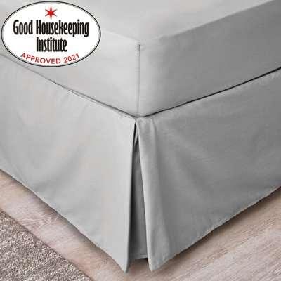 Non Iron Plain Dye Slate Duvet Cover Slate (Grey)