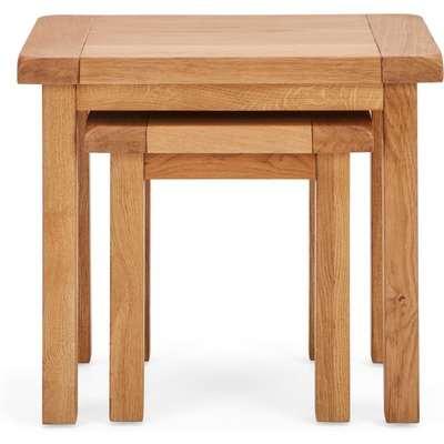 Oakville Nest of Tables Brown