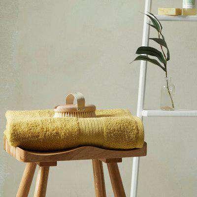 Ultra Absorbent 100% Cotton Bath Sheet Ochre (Yellow)