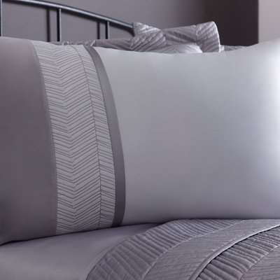 Owen Grey Housewife Pillowcase Grey