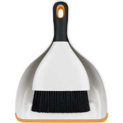OXO Saffron Dustpan and Brush Set Saffron