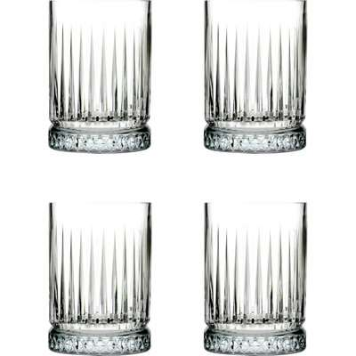 Set of 4 Elysia Shot Glasses Clear