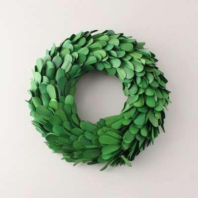 Palm Lily Wreath 28cm MultiColoured