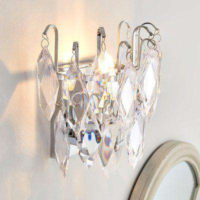 Parla Jewel Wall Light Chrome