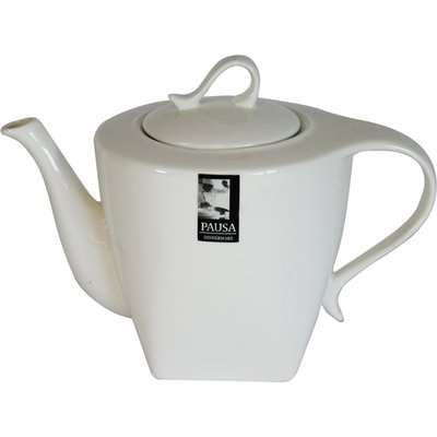 Pausa Teapot Gloss White