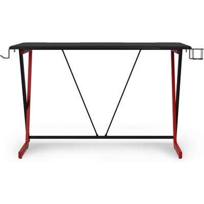 Phantom Gaming Desk Black/Red