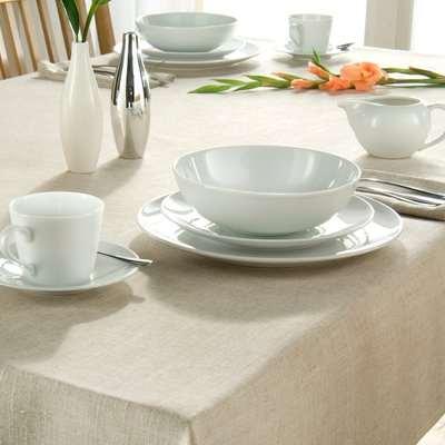 Polylinen Tablecloth Cream