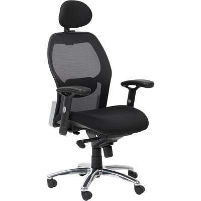 Portland Ergonomic Office Chair Black