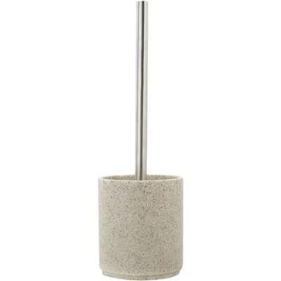 Resin Toilet Brush Light Grey