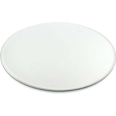 Round Mirror Plate Clear