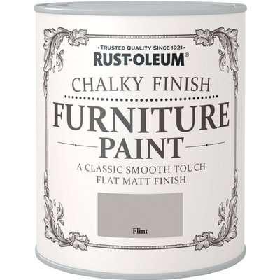 Rust-Oleum Flint Matt Furniture Paint Flint