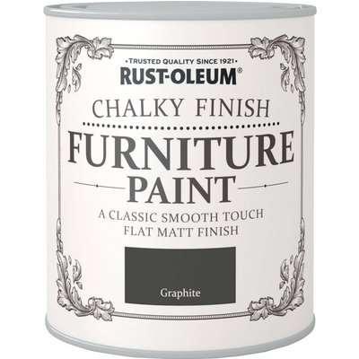 Rust-Oleum Graphite Matt Furniture Paint Graphite