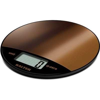 Salter Metallic Electronic Kitchen Scale Copper