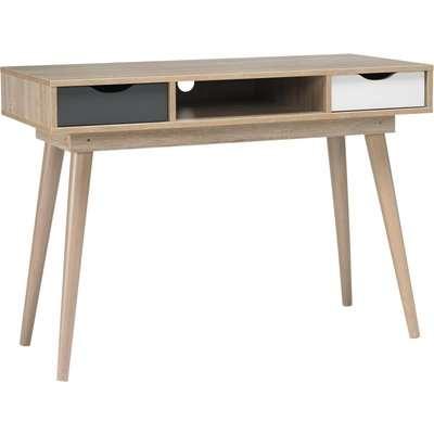 Scandi Grey Desk Grey