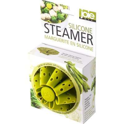 Silicone Steamer Green