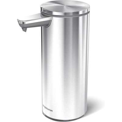 simplehuman Brushed Silver Sensor Soap Pump Silver