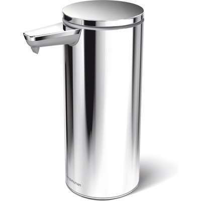 simplehuman Polished Silver Sensor Soap Pump Silver