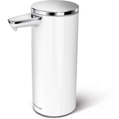 simplehuman White Sensor Soap Pump White