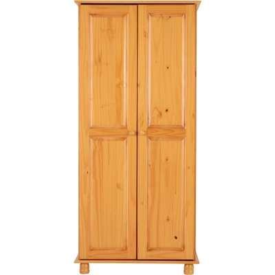 Sol Wooden Wardrobe Natural