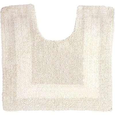 Super Soft Reversible Cream Bath Mat Natural