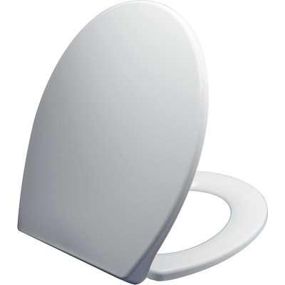Thermoplast White Toilet Seat White