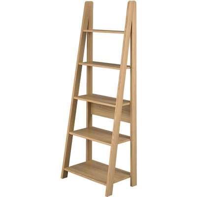 Tiva Ladder Bookcase Brown