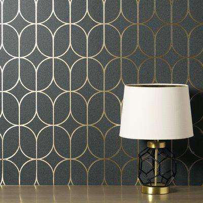 Rosco Charcoal Wallpaper Charcoal