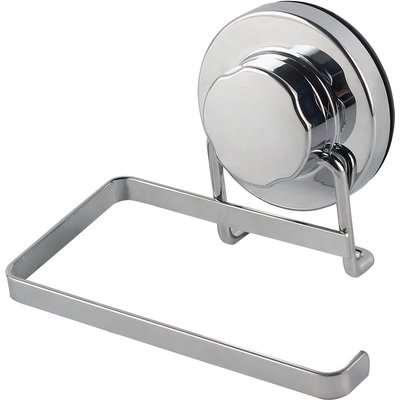 Twist n Lock Toilet Roll Holder Silver