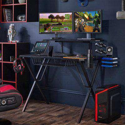 Ultimate Gaming Desk Black