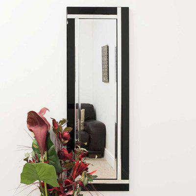 Villa Black Wall Mirror Black