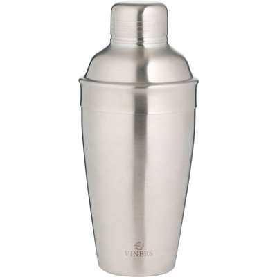 Viners 500ml Brushed Cocktail Shaker Silver