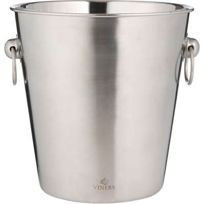 Viners Stainless Steel Champagne Bucket Silver