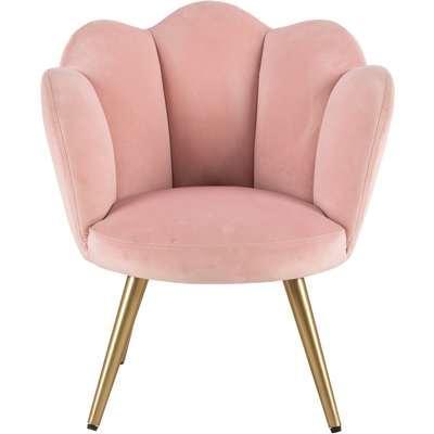 Vivian Kids Chair Blush