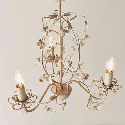 Vogue Olive 3 Light Chandelier Antique Gold