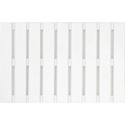 White Wood Rectangular Duck Board White