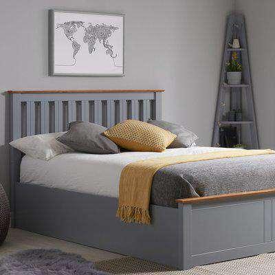 Winslow Ottoman Bed Frame Grey